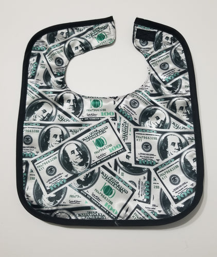 All About The Benjamins Toddler Bib.