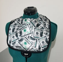 Load image into Gallery viewer, All About The Benjamins Toddler Bib.