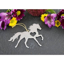 Load image into Gallery viewer, Unicorn Metal Ornament