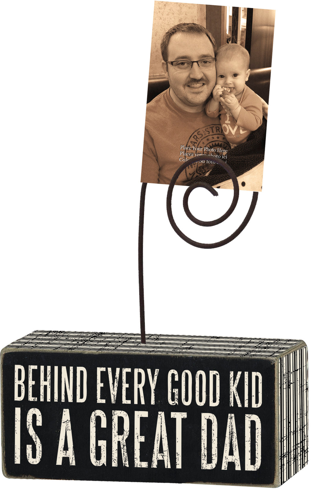 Great Dad - Photo Block