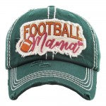 Football Mama Baseball Cap