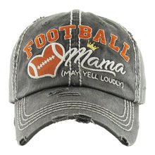 Load image into Gallery viewer, Football Mama Baseball Cap