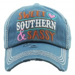 Load image into Gallery viewer, Sweet Southern Sassy Baseball Cap