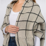 Plaid Shrug/Shawl