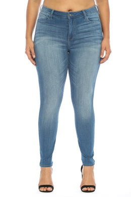 Mid Rise Crop Skinny Ms. Cello Jeans