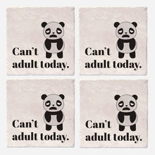 "Load image into Gallery viewer, Can't Adult Today Coaster Tiles - Set of 4 (4""x4"")"