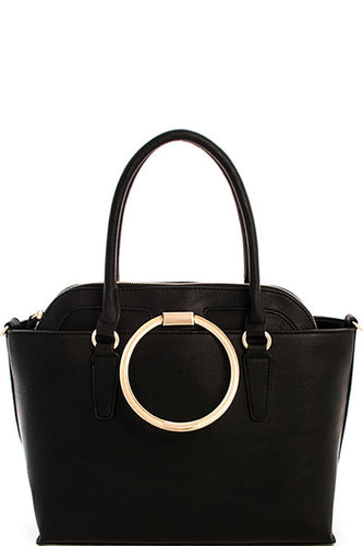 Gold Ring Two-In-One Handbag