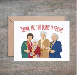 Golden Girls Card