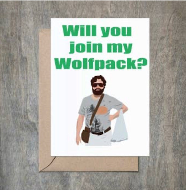 Will you join my Wolfpack Card
