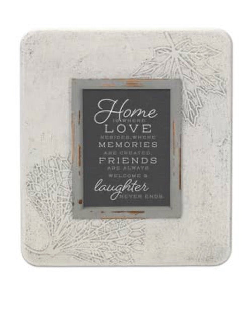 Home is Where Love Resides Picture Frame