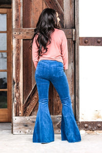 Corduroy Flare Jeans