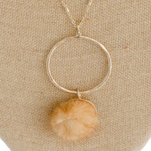 Load image into Gallery viewer, Faux Fur Puff Necklace