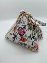 Load image into Gallery viewer, Pyramid Wristlet w/ Tassel Keychain