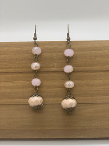 Dangle Semi-Precious Stone Earrings