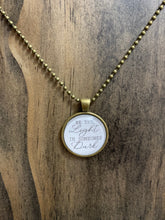 "Load image into Gallery viewer, ""Be The Light"" Necklace"