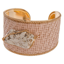 Load image into Gallery viewer, Raffia Cuff Bracelets