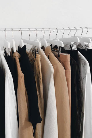 How To Organise A Wardrobe