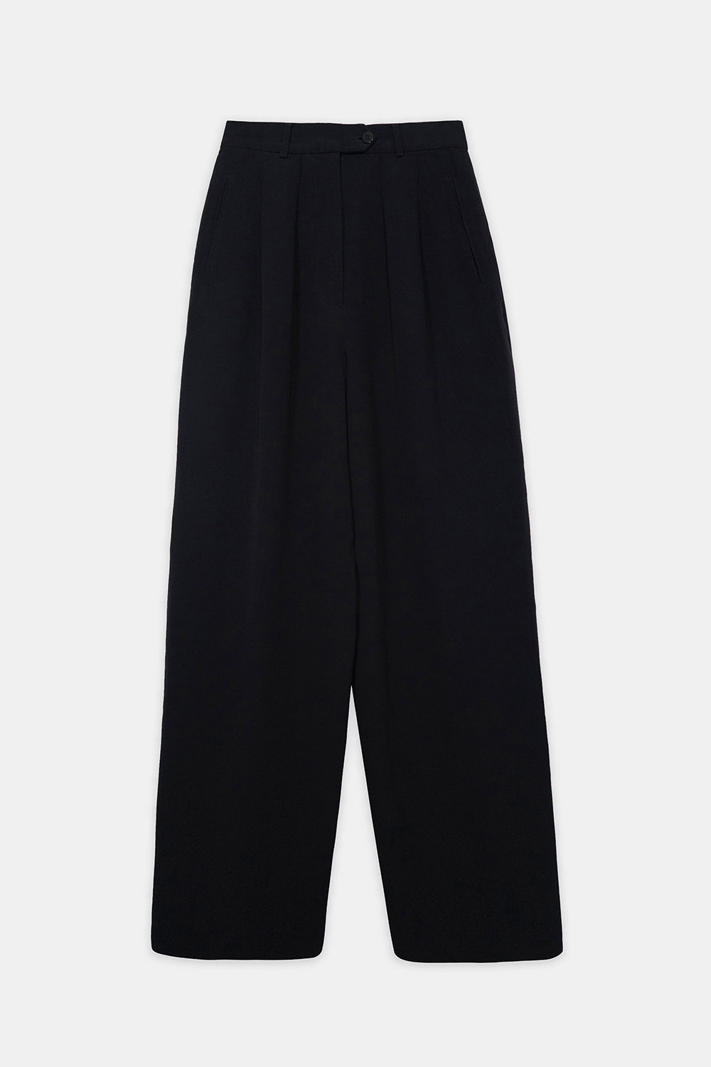 Emporio Armani Vintage Tailored High Waist Trousers Detail