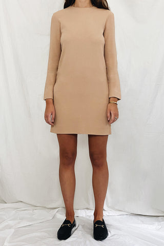Celine Long Sleeve Shift Dress Size 8