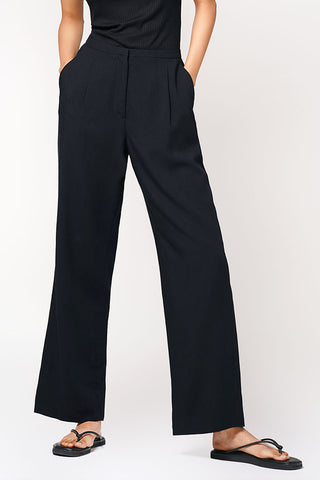 Georgio Armani Lana Wool High Waist Tailored Trousers Size 8-10