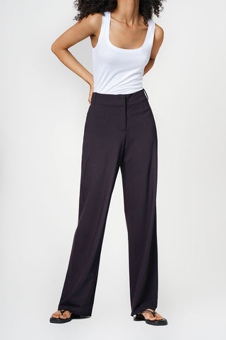 Celine Lightweight Wool Trousers Size 8