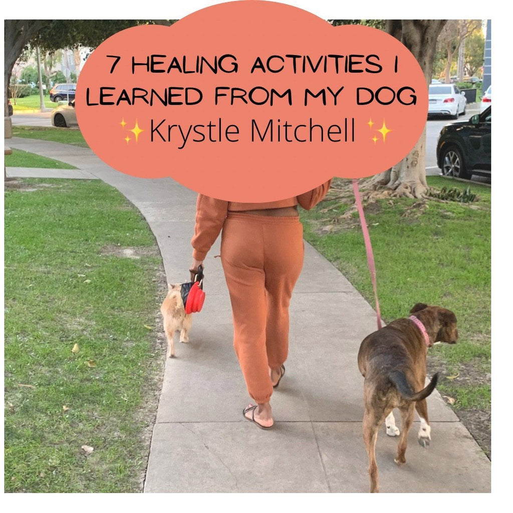 7 Healing Activities I learned from my Dog