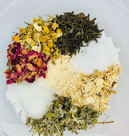 Goddess Green Tea Milk Bath - Healing Intentions
