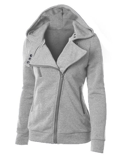 Zipper Casual Hoodie Vêtements de plein air