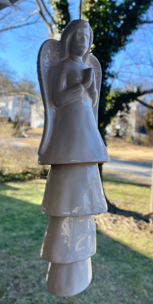 Barbara King Porcelain Angel Wind Chime