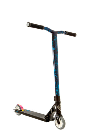 Grit Elite Pro Scooter - Satin Black/Blue Laser