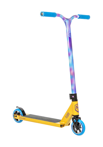 Grit Fluxx Scooter - Gold/Neo Paint