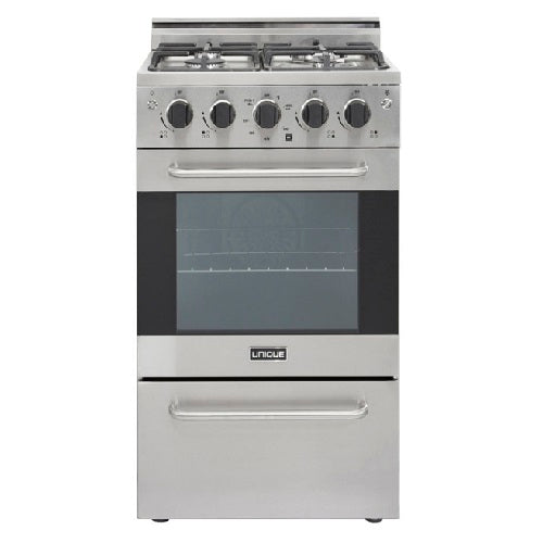 "Prestige 20"" Stainless Convection Gas Range (Electronic Ignition)"