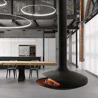 Gyrofocus Suspended Fireplace