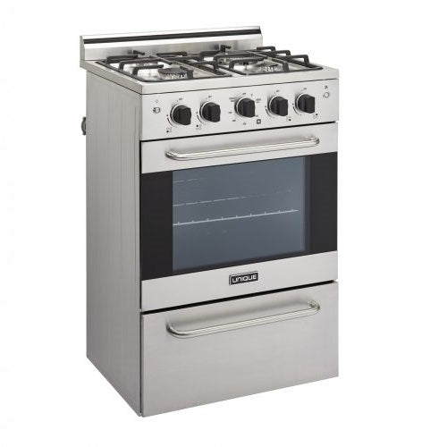 "Prestige 24"" Stainless Convection Gas Range (Electronic Ignition)"