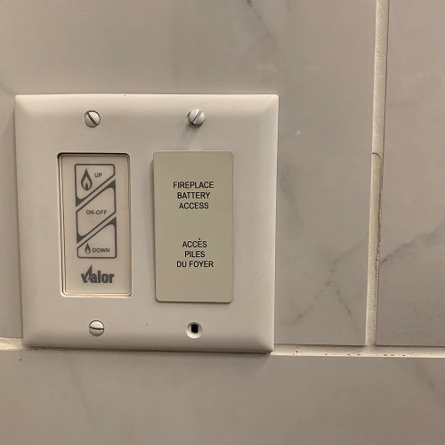 Remote Battery & Wall Switch