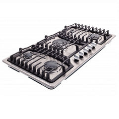 "36"" Gas Cooktop (Dual ignition, electrical/battery)"