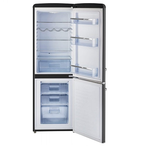 7 cu/ft Bottom Mount Retro Refrigerator