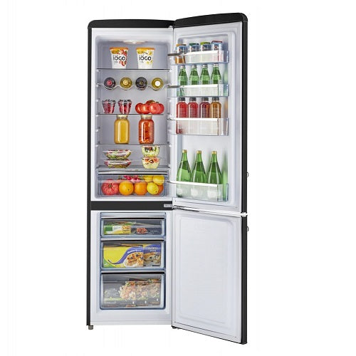 9 cu/ft Bottom Mount Retro Refrigerator