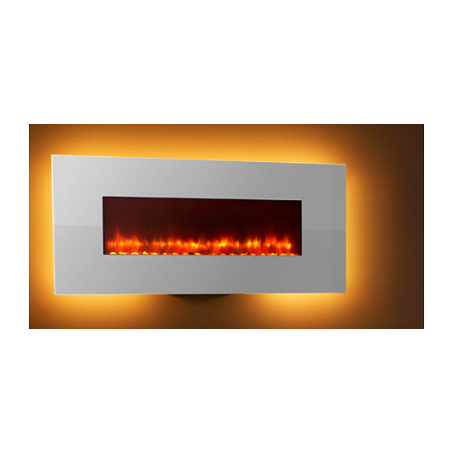 "Simplifire 58"" Linear Electric Fireplace (white frame only)"