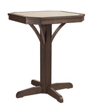 "28"" Square Counter Pedestal"