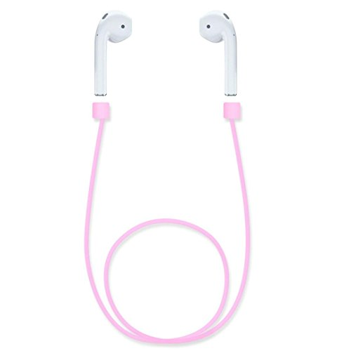 AutumnFall Air Pods Sport Wire Cable Connector Silicone Strap for Apple Airpods (Pink): Gateway