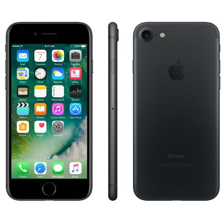 Simple Mobile Apple iPhone 7 cellphone with 32GB 4G LTE Prepaid, Black