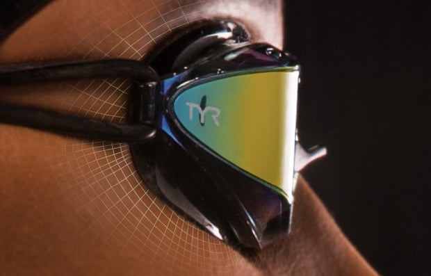 TYR Tracer X Racing Mirrored Goggles