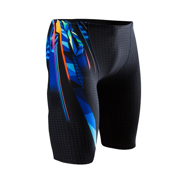 TYR MEN'S DURAFAST ELITE BRAVOS ALL OVER JAMMER