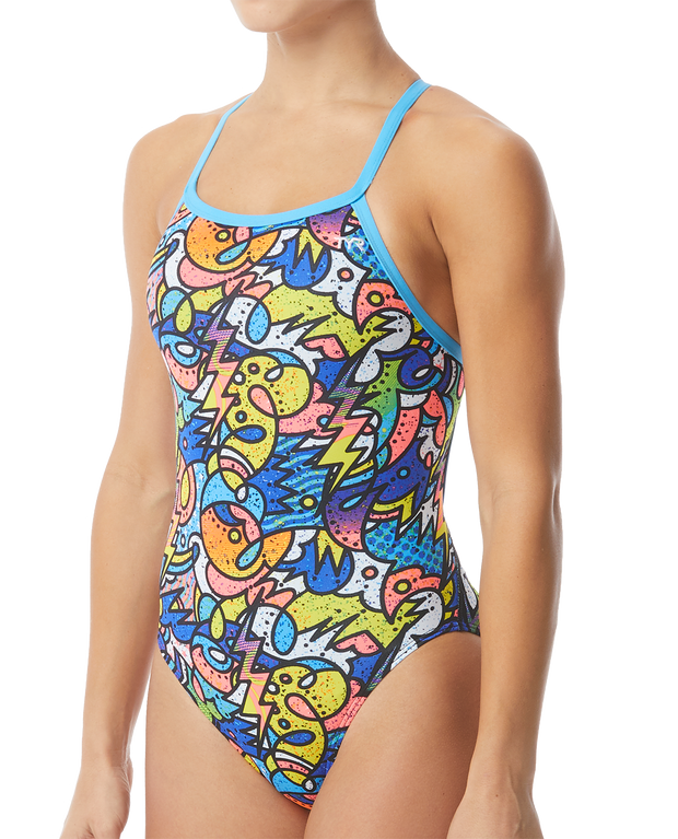 TYR Women's Astratto Diamondfit Swimsuit Durafast One