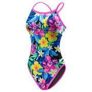 TYR WOMEN'S AMAZONIA REVERSIBLE DIAMONDFIT SWIMSUIT