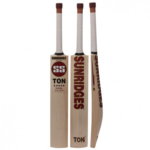 SS Ton Retro Classic Super English Willow Cricket Bat