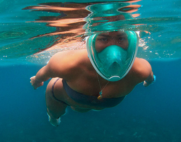 How to Size a Full Face Snorkel Mask