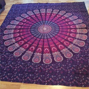 Mandala Tapestry/Boho Beach Towel