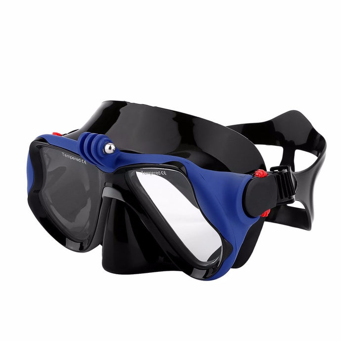 Hot Professional Underwater Camera Diving Mask Scuba Snorkel Swimming Goggles for GoPro Xiaomi SJCAM Sports Camera sent from Ru